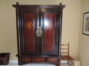 Antique Asian Armoire