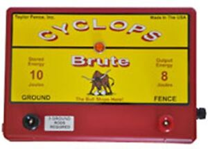 Cyclops Brute 8 Joule 100 Acre Ac Powered Electric Fence Charger Energizer