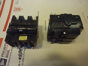 Fpe Federal Pacific 20a 3 P Breaker Bolt On Nb