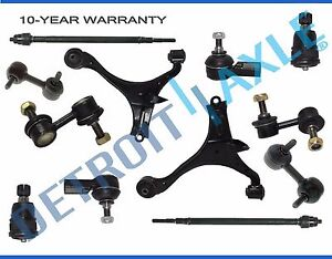 New 12pc Complete Front Rear Suspension Kit For Acura And Civic Excludes Si