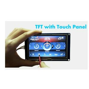 7 0 Nextion Smart Usart Hmi Tft Lcd Touch Screen Display Module For Arduino