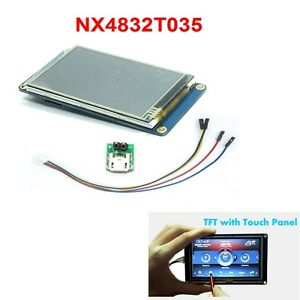 Nextion Nx4832t035 3 5 3 5inch Usart Hmi Tft Lcd Touch Display Module Panel