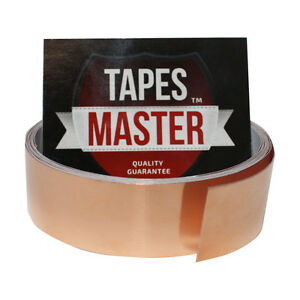Copper Foil Tape 1 X 10ft Emi Conductive Adhesive Ship From Usa