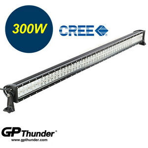 52in 6000k Off Road 300w Cree Led Fog Lamp Work Light Bar Suv Jeep 4wd