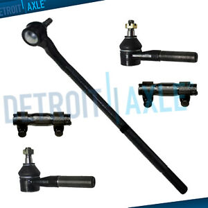 New 5pc Front Suspension Tie Rod Set For Ford Bronco F 350 F 150 F 250 1980