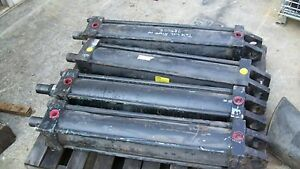 Parker 30 Stroke 6 Bore Hydraulic Cylinder 3000psi Great For Logsplitting