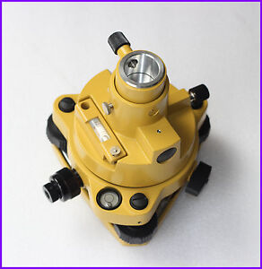 Yellow Tribrach With Optical Plummet Adapter For Topcon Sokkia Total Stations