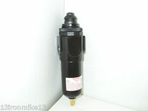 New Air Line Pneumatic Metal Mini Filter 1 8 Npt 250 Psi