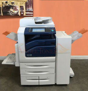 Xerox Workcentre 7830 Color Printer Scan Copier Finisher Network 30ppm Laser A3
