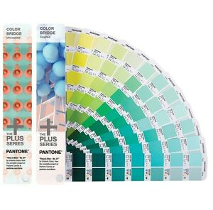 Pantone Color Bridge Gloss Coated Uncoated 2 Book Set Brand New