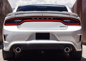 553 Primered Factory Style Hellcat Spoiler Fits The 2011 2018 Dodge Charger