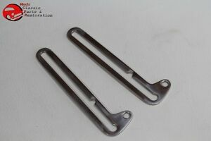 28 31 Ford Model A Closed Car Pickup Truck Windshield Stainless Slide Swing Arms