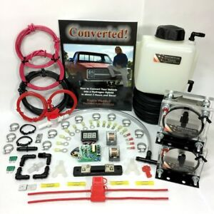 Hho Dry Cell Kit Up To V10 Results Guaranteed Hydrogen Generator Water4gas Fuel