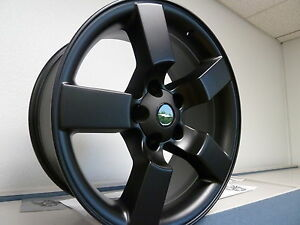 20 Satin Black Fits Ford Lightning Wheels Expedition Set 4 F150 Rims 1997 2004