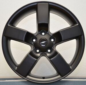 Brand New 4 Set 20 Satin Black 1997 04 Ford F150 Lightning Wheels Rims