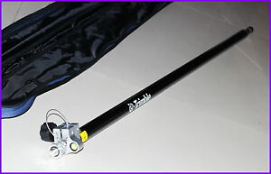 New Telescopic Carbon Fibre Survey Rod Pole 2 3m Gps Pole With 5 8 X11 Thread