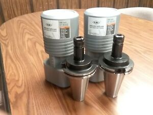 Cat50 er16 Collet Chuck 4 Gage Length 2 Chucks New Tool Holder Set