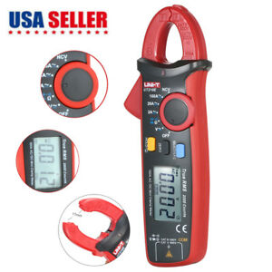 Uni t Ut210e Auto Range Ac dc Current Clamp Meter Lcd Digital Multimeter Tool
