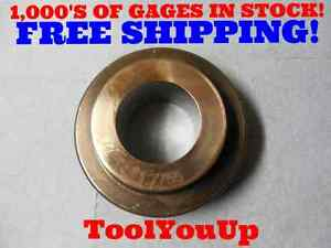1 7755 Master Plain Smooth Bore Ring Gage 1 7500 Oversize Tooling Toolmaker