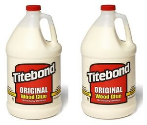 2 Ea Franklin 5066 1 Gallon Jugs Titebond Original Wood Glue