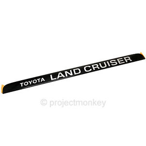 Oem Toyota 91 97 Land Cruiser Fj80 Fzj80 Rear Hatch Land Cruiser Emblem Badge
