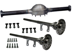 57 Wide Ford 9 Inch Hump Back Rear End Housing With 31 Spline Axles