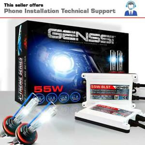 Genssi Hid Xenon Conversion Kit All Bulb Sizes And Colors Premium Slim Ballasts