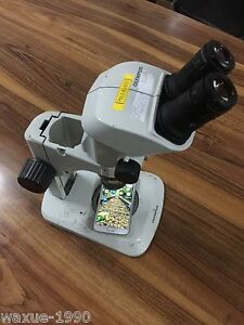 1pcs Used Olympus Sz 61 Stereo Microscope Tested