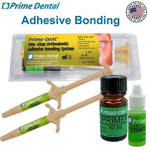 Prime Dental Orthodontic Adhesive Bonding System Metal Porcelain Brackets