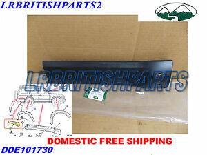 Land Rover Rear Quarter Moulding Flare Trim Discovery Ii 2 Lh Oem New Dde101730