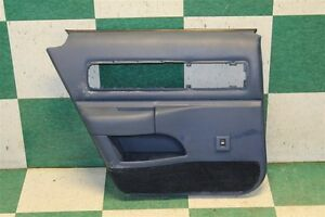 95 96 Caprice Blue Left Rear Interior Door Trim Panel Back Driver Armrest Oem