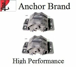 2 Pcs Motor Mount Kit For Pontiac Firebird 6 6l 400 Engine 1975 1979