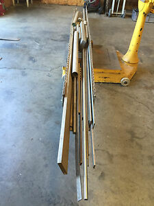 304 Stainless Steel Lot Of Assorted Stock Flat Bar Round Pipe 800 Lbs