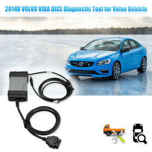 New 2014d Vida Dice Obd2 Eobd Diagnostic Scan Tool For Volvo Vehicle 1999 2015 3