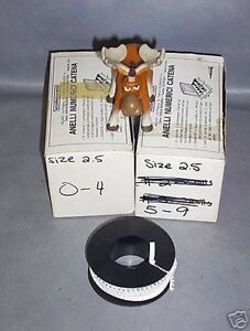 Numerical Wire Markers Reels Of 1000 Size 2 5 0 9