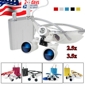 3 5x 420 2 5x320 Dental Surgical Binocular Loupes Optical Glass