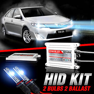 Genssi Hid Xenon Conversion Kit Bulbs For Toyota Camry 2007 2016 W standard