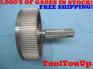 112 Teeth 16 32 Diametral Pitch 30 Degree Pressure Angle Go Spline Gage Tooling