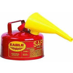 Type 1 Safety Gas Can no Ui 10 fs Eagle Mfg Co