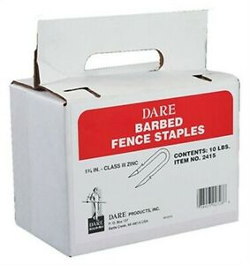 10pk 1 3 4 Barb Staples no 2415 Dare Products Inc