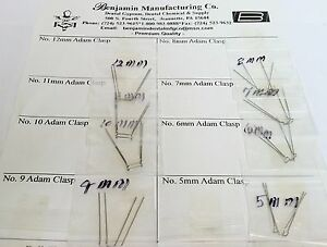 3b Dental Orthodontic Adams Clasps Assortment Pack 5mm 12mm