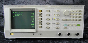 Hp agilent keysight 8756a Scalar Network Analyzer 10mhz To 40ghz