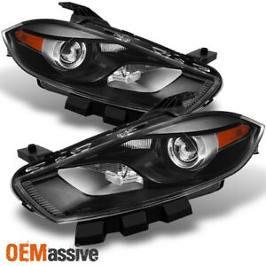Fit 2013 2014 2015 2016 Dodge Dart Halogen Type Projector Headlight Replacement