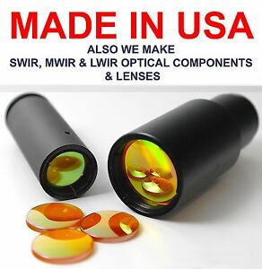 18mm Fl 3 Fd 75mm Usa Co2 Znse Epilog Hobby Laser Lens 40 100w Cutter Engraver
