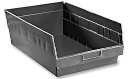 Shelf Bins Plastic Container storage 11 X 18 X 6