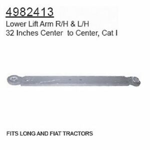 4982413 Fiat Long Tractor Parts Lower Lift Arm R h L h Long fiat Tractors