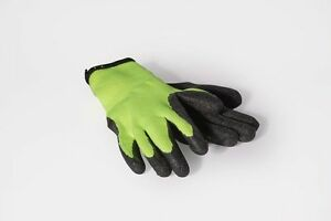 Lot Of 26 Cotton Latex Coated Work Gloves Construction Gardening Hi Viz Size L