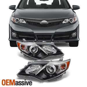 Fits 2012 2014 Camry Headlights Light Lamps Left right Replacement 12 13 14