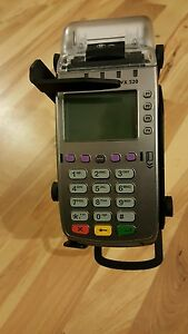 Swivel Stand For The Verifone Vx520 Credit Card Terminal Key Locking Tilt