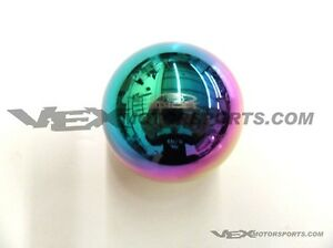 Blox Racing Limited 490 Spherical 12x1 25mm Shift Knob Neo Chrome For Toyota For